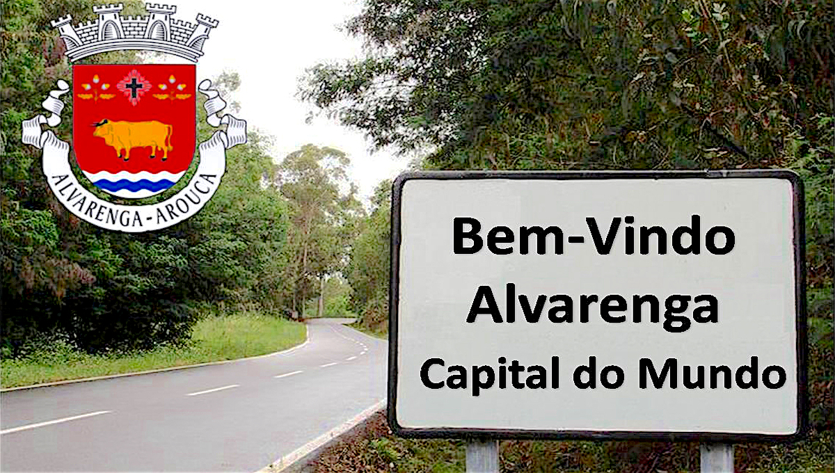 Alvarenga, capital do mundo